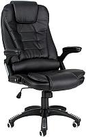 Кресло офисное Calviano Veroni 309 (черный/белая прошивка) -