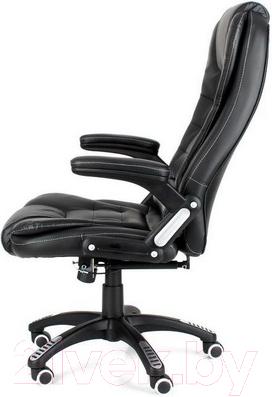 Кресло офисное Calviano Veroni 309 (черный/белая прошивка)