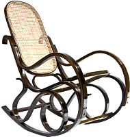Кресло-качалка Calviano R1 (темный ротанг) -