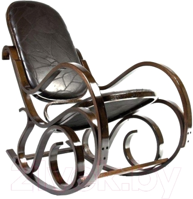 Кресло-качалка Calviano Relax M198 (эко-кожа лоскуты)