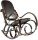 Кресло-качалка Calviano Relax M198 (эко-кожа лоскуты) -