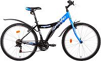 Велосипед Forward Fujion 1.0 (синий/черный) -