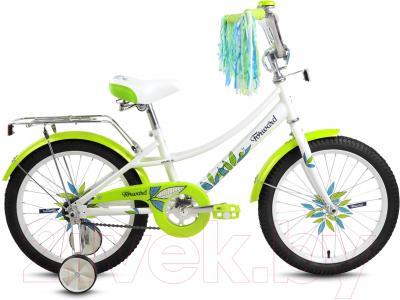 Детский велосипед Forward Little Lady Azure 18 (белый)
