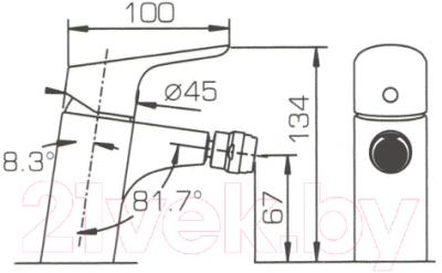 Смеситель Bravat Drop F34898C