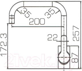 Смеситель Bravat Stream F73783C-1