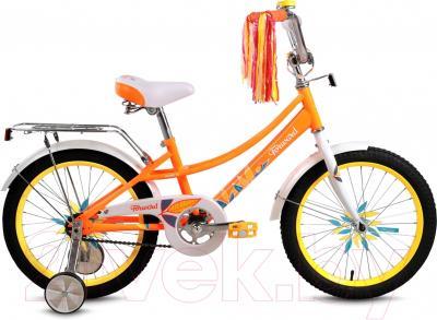 Детский велосипед Forward Little Lady Azure 18 (оранжевый)