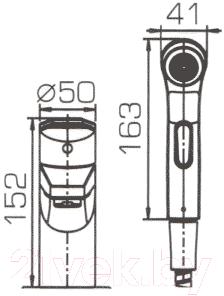 Смеситель Bravat Line F15299C-1