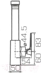 Смеситель Bravat Spring F779113C