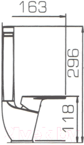 Смеситель Bravat Line F75299C-2