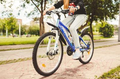 Велосипед Forward Titan 3.0 Disc (белый матовый)