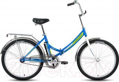 Велосипед Forward Valencia 1.0 Rus (синий)
