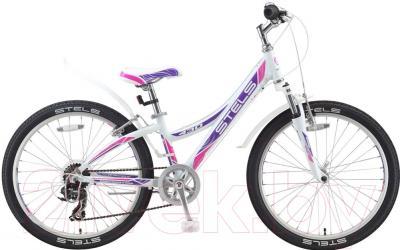 Велосипед Stels Navigator 430 V 2016 (белый/пурпурный/красный)