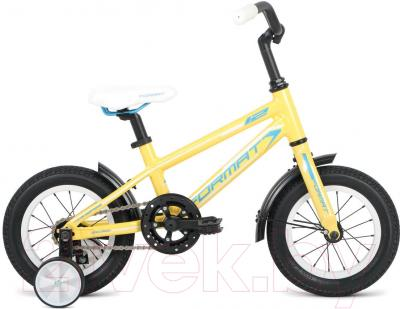 Детский велосипед Format Girl (12, желтый)