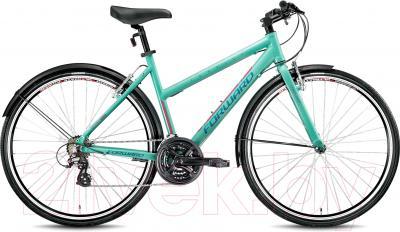 Велосипед Forward Corsica 1.0 (зеленый)
