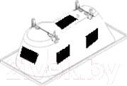 Шумоизоляция для ванны BathMaster BM-06-01-S - размещение шумоизоляции на ванне