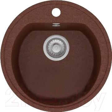 Мойка кухонная Polygran F-05 (коричневый)