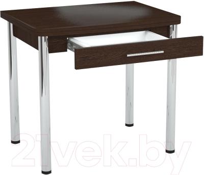 Обеденный стол Millwood Алтай-03 Комфорт (венге)