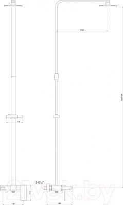 Душевая система Timo Sahara SX-1115