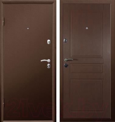 Входная дверь Промет Практик (86x205, левая)