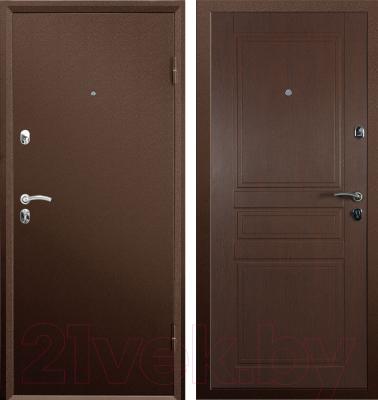 Входная дверь Промет Практик (96x205, правая)