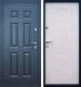 Входная дверь Промет Виктория беленый дуб (96x205, левая) -
