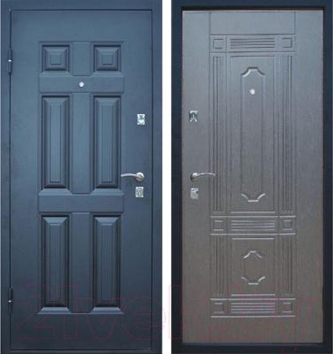 Входная дверь Промет Виктория венге (86x205, левая)