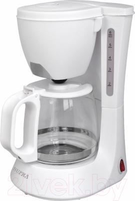 Капельная кофеварка Supra CMS-0602 (белый)