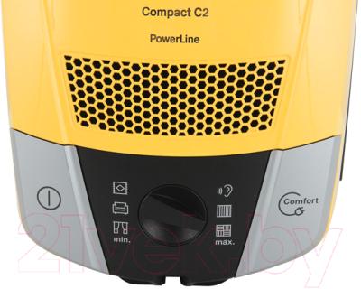 Пылесос Miele SDAB0 Compact C2 (желтый)