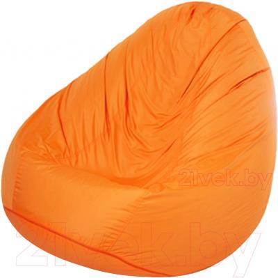 Бескаркасное кресло Meshok.by Дьюспо Оранжевый (smart balls, L)