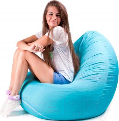 Бескаркасное кресло Meshok.by Дьюспо Бирюзовый (smart balls, XL)