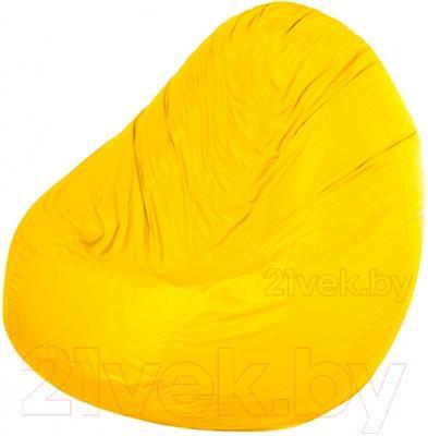 Бескаркасное кресло Meshok.by Дьюспо Желтый (smart balls, XL)