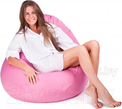 Бескаркасное кресло Meshok.by Дьюспо Розовый (smart balls, M)