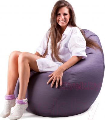 Бескаркасное кресло Meshok.by Дьюспо Серый (classic balls, L)