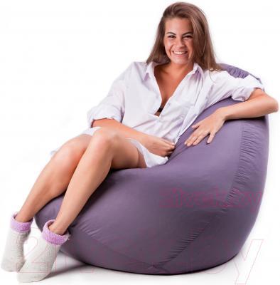 Бескаркасное кресло Meshok.by Дьюспо Серый (smart balls, S)