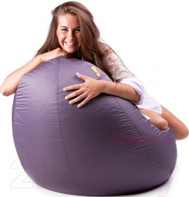 Бескаркасное кресло Meshok.by Дьюспо Серый (smart balls, XL)