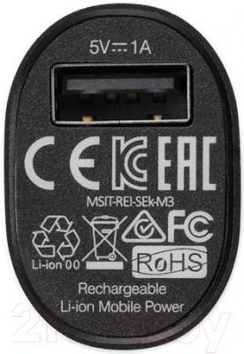 Портативное зарядное устройство APC Mobile Power Pack M3BK-EC (черный)