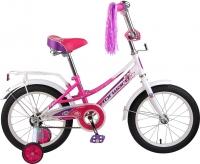 Детский велосипед Forward Little Lady 2015 (16, белый/розовый) -
