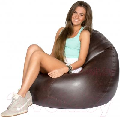 Бескаркасное кресло Meshok.by Мешок Антик (smart balls, L)