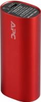 Портативное зарядное устройство APC Mobile Power Pack M3RD-EC (красный) -