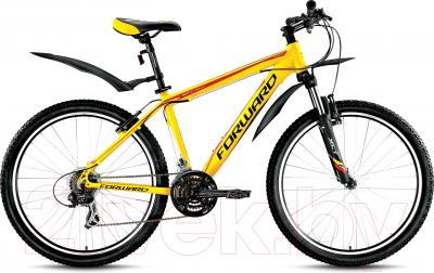 Велосипед Forward Next 1.0 2016 (17, желтый матовый)
