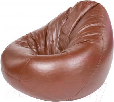 Бескаркасное кресло Meshok.by Мешок Коричневый (classic balls, L)