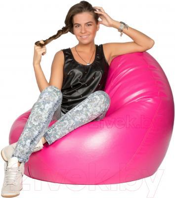 Бескаркасное кресло Meshok.by Мешок Розовый (smart balls, M)