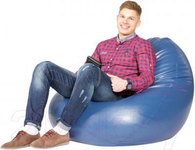 Бескаркасное кресло Meshok.by Мешок Синий (smart balls, XL)