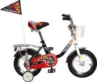Детский велосипед с ручкой Forward Racing Boy 2015 (12, белый/черный) -