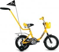 Детский велосипед с ручкой Forward Racing Boy 2016 (12, желтый) -