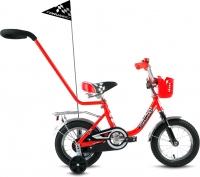 Детский велосипед с ручкой Forward Racing Boy 2016 (12, красный) -