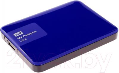 Внешний жесткий диск Western Digital My Passport Ultra 1TB Blue (WDBDDE0010BBL)