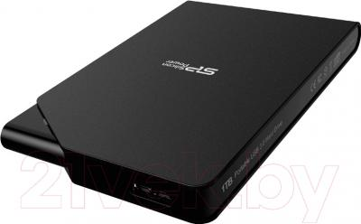 Внешний жесткий диск Silicon Power Stream S03 2TB Black (SP020TBPHDS03S3K)