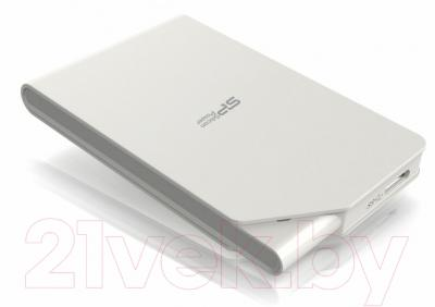 Внешний жесткий диск Silicon Power Stream S03 2TB White (SP020TBPHDS03S3W)