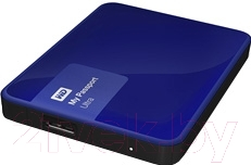 Внешний жесткий диск Western Digital My Passport Ultra 2TB Blue (WDBNFV0020BBL)